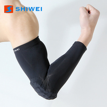 SHIWEI--HZ921# 80%nylon copper 20% rubber elbow pad for basketball