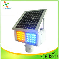 Road strong warning effect solar safety strobe lights