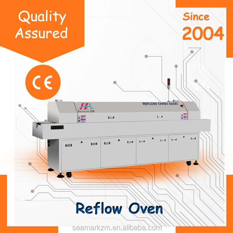 Shenzhen electronics smt reflow oven A600 infrared reflow oven