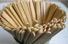 Promotion Individually Wrapped Wooden Coffee Stir Sticks Stirrers