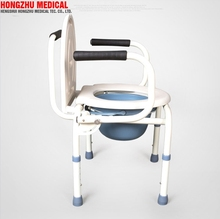 Portable medical furniture commode chair folding commode toilet chair disabled equipment price