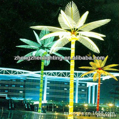 Led Coconut Tree Light Street Project New Design Hot Sell &amp