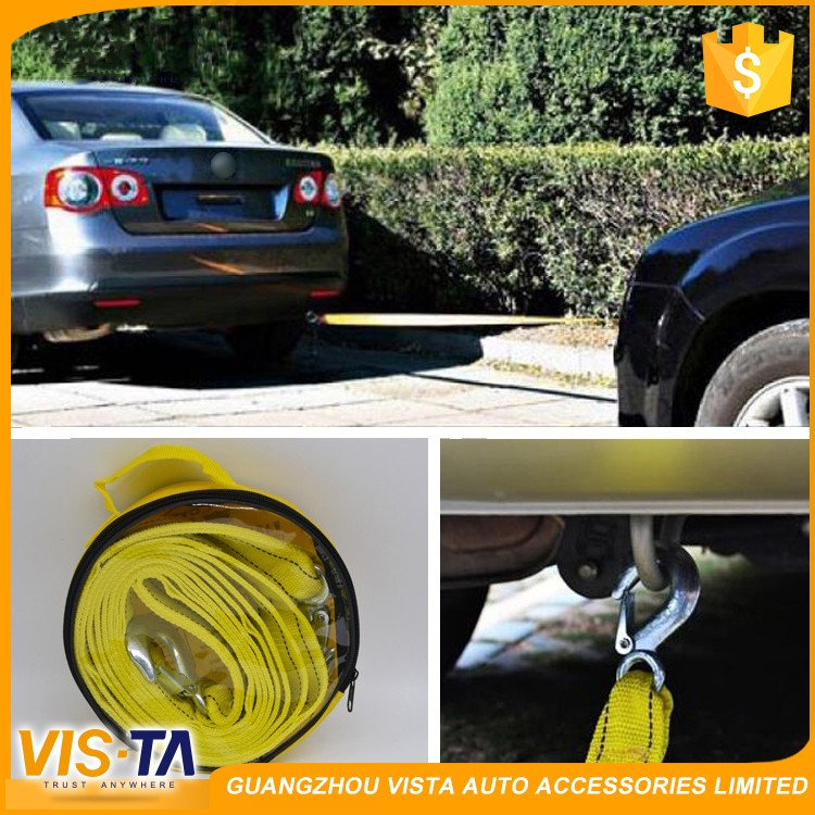Hot sale 5m 5 tonne emergency tool Trailer Rope for car, boat,trailer,trucks