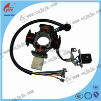 Wholesale For Sales Motorcycle Parts Magneto Stator For 50CC Scooter With High Quality Factory Sell Direct