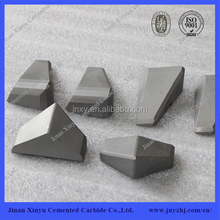 Tungsten carbide shield cutter for pilling equipment
