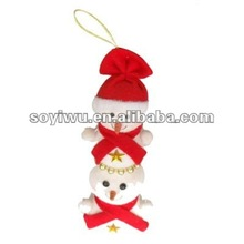 Christmas gifts wholesale from yiwu market with metal snowflake shape christmas tree ornament #1240815