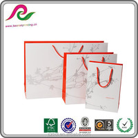 factory cost price clothing recycle paper shopping bag