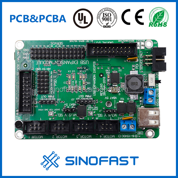Quick Turnkey 1-30L OEM PCB Board Development /Assembly PCBA Electronics Manufacturer With Design Service