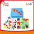 educational soft baby cloth book /quiet book