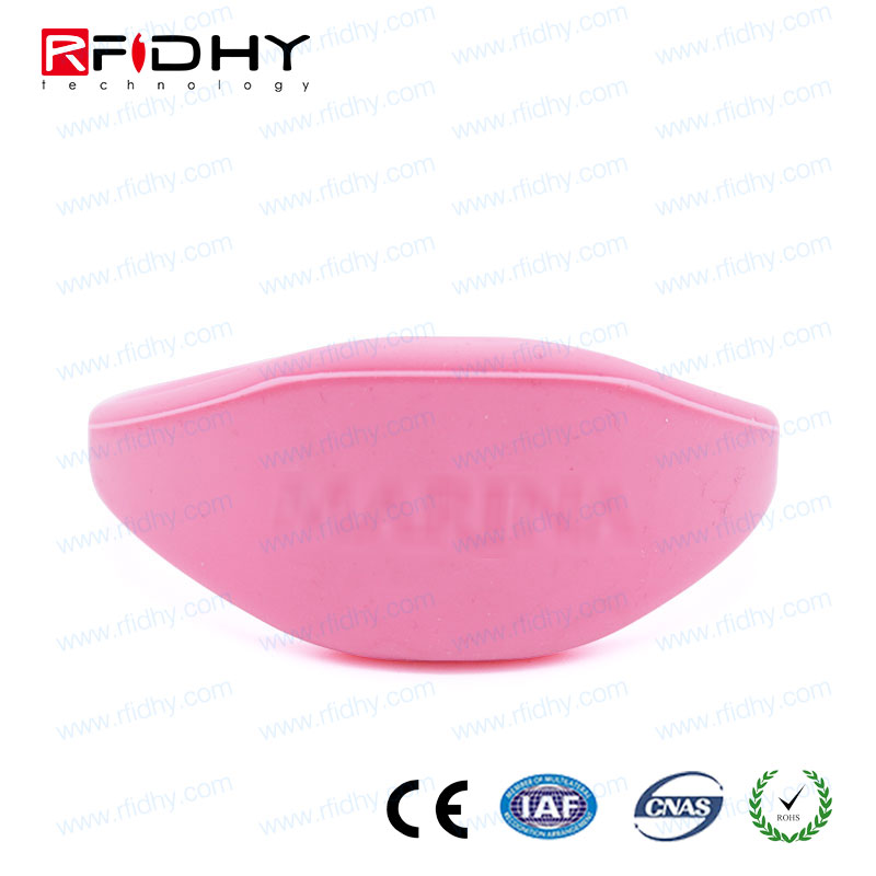Low cost f08 silicone pulsera rfid for access control