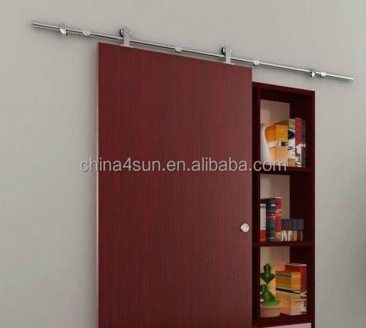 Quality assurance hot sale barn wood sliding interior door hardware ,sliding interior door hanging wheel roller