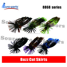 hole-in-one buzz cut skirts,rubber sea bass fishing lure