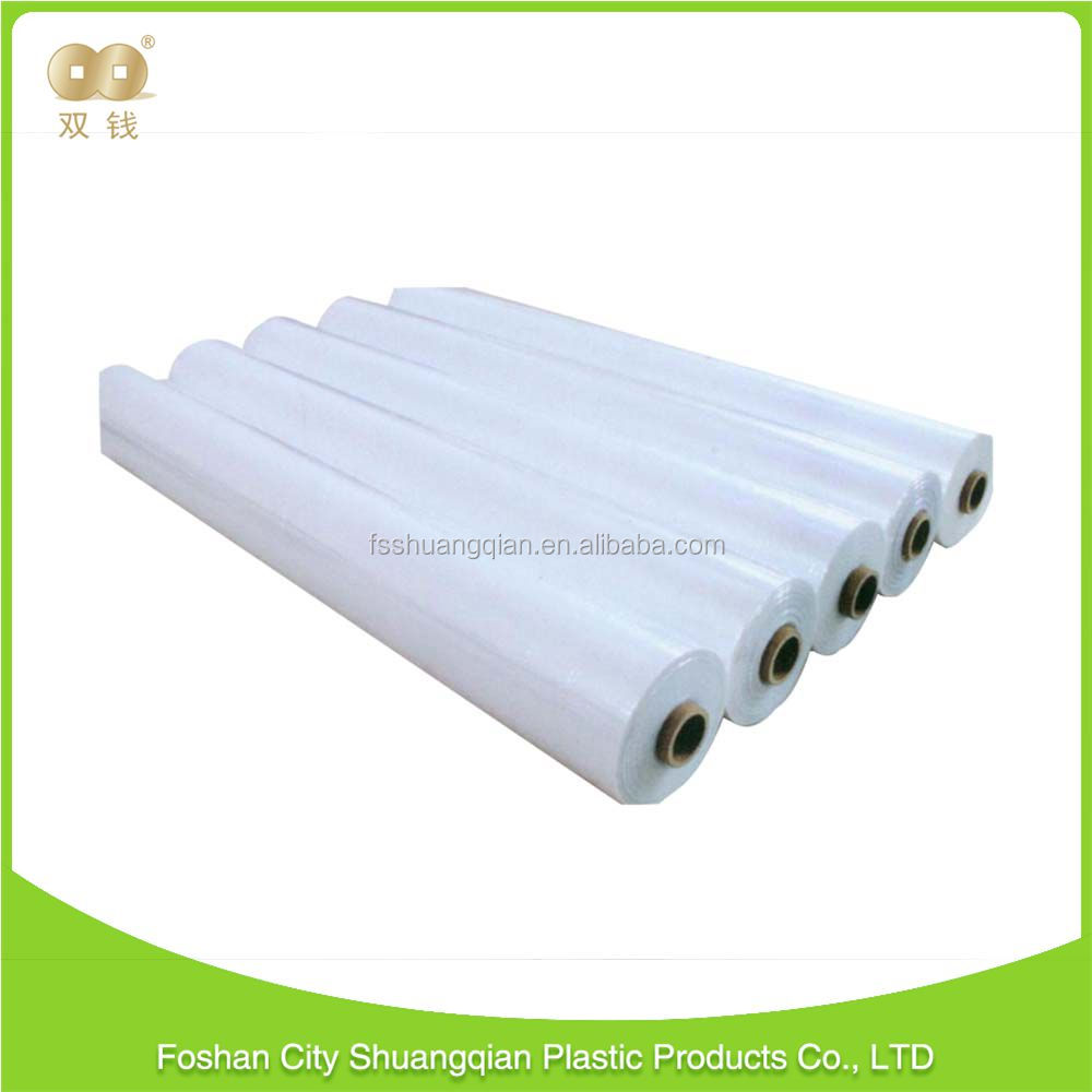 New arrival superior service Translucent clear Color modern pof shrink film semi blue