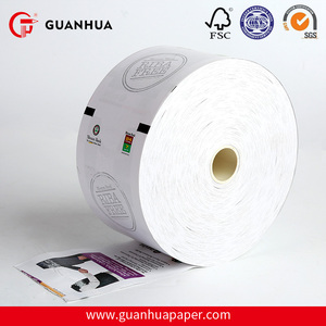 Eco-Friendly cash register POS receipt thermal paper 2 1/4""