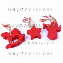 Elegant Christmas felt decoration