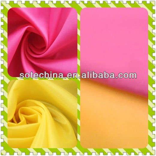 100% polyester colors lining / pocket fabric - taffeta polyester 190T - 2017 HOT SALE TEXTILE