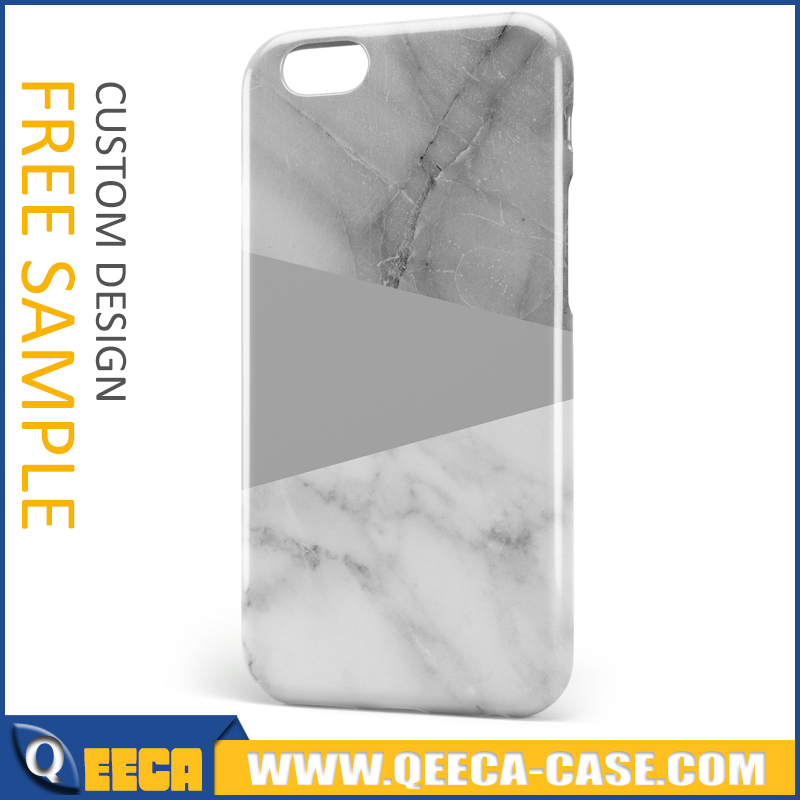 Custom print nature marble phone case for iphone 6 6s 7 marble stone cover