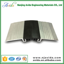 Aluminum metal bellows expansion joint for floor