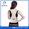 2015 New Products Breathable Elastic Support Belt Posture Correction Medical Back Support Heated Magnetic Posture Corrector Back