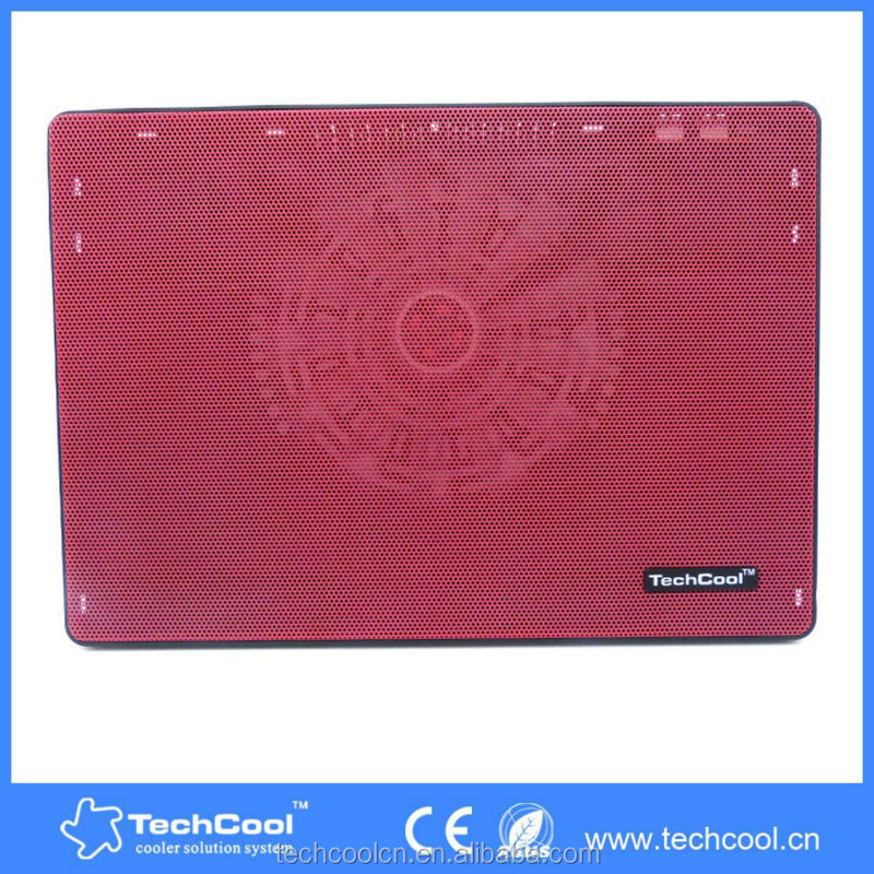 2015 hot two fans height adjustable 18 inch laptop water cooling gel pad