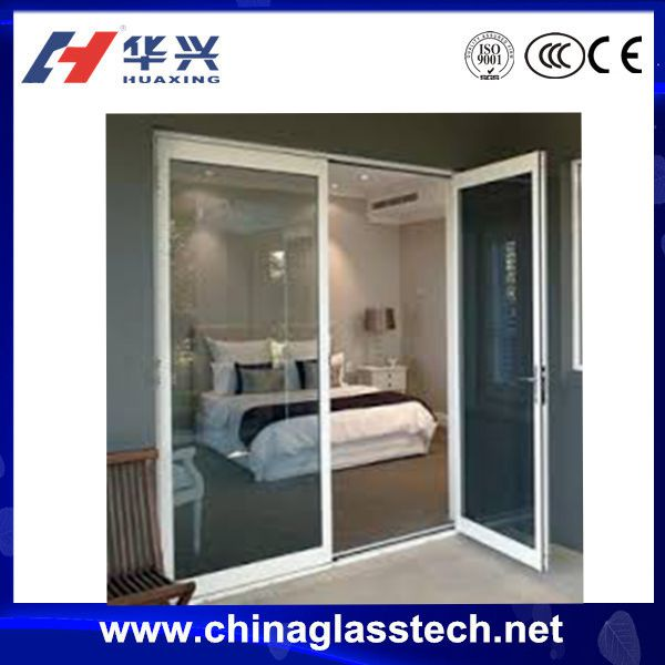 China Top Brand Energy Saving PVC Glass Door Price Pictures