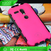 2 in 1 design hybrid combo phone case for moto g