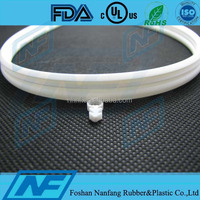 clear color silicone shower door seal strip