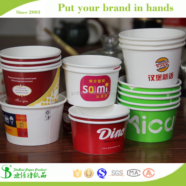 Nanning 135ml 160ml 270ml TheBest Biodegradable ice cream cup price