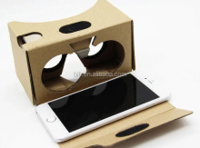 High Quality 3d glasses virtual reality vr box Paper cardboard 3D VR box