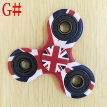 America Flag Fingertip Gyro USA Hand Spinner New 2017 Fidget Toy Usa Flag Color EDC Hand Spinner Anti Stress Reliever