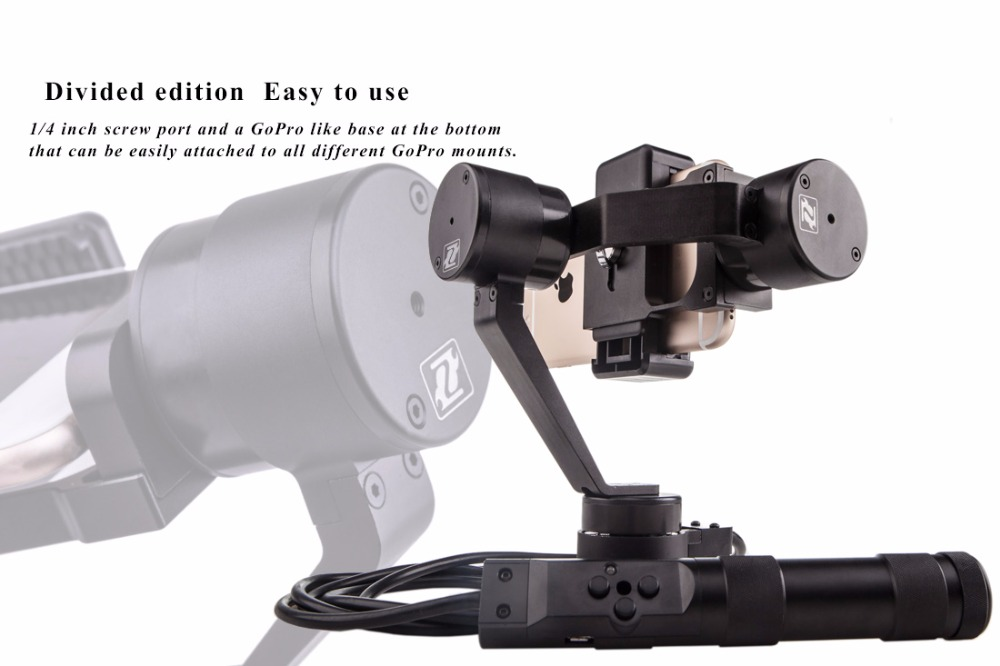 Zhiyun Smooth R Multifunctional mobius action camera gimbal brushless motor for wholesales