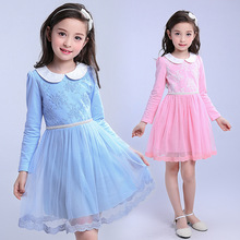 Wholesale Kids Party Wear Frocks Birthday Casual Dress For Girl Of 7 Years Old