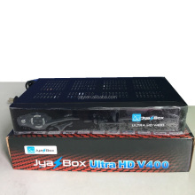 Original Jyazbox ultra hd V400 full hd satellite receiver with jb200 turbo 8psk module and wifi for North america Puerto Rico