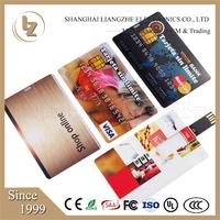 Factory fancy Plastic Credit Card USB, oem logo on business card usb flash drive,factory best cheap usb flash drive wholesale