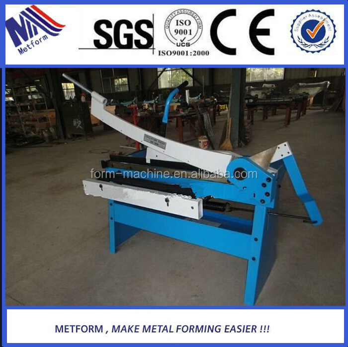 2015 new design top quality metal sheets manual guillotine shearing <strong>machine</strong> with top quality