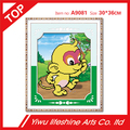12 Chinese zodiac signs cute monkey cartoon series resin round DIY diamond painting cross stitch wall decoration