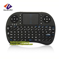 2.4GHz Mini Wireless KODI XBMC Keyboard with Touchpad Mouse I8 i9 for Raspberry Pi 2, MacOS,Linux, HTPC, IPTV, Google Android TV