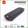 Newest 24v 10.4ah rear rack electric bike lithium battery