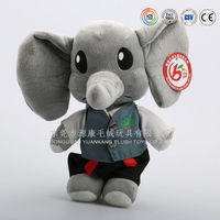 High quality stuffed animals elephant toys ICTI Auidted