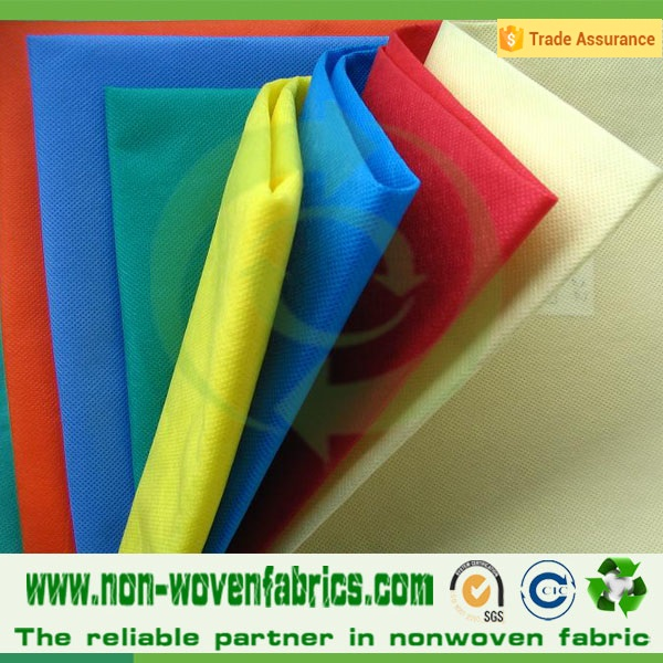 China nonwoven factory TNT nonwoven fabric/PP bag raw materials/ polypropylene spun bond Non woven fabric