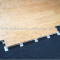 CHM Carbonized Vertical Matt Bamboo Flooring with Patent Locking System