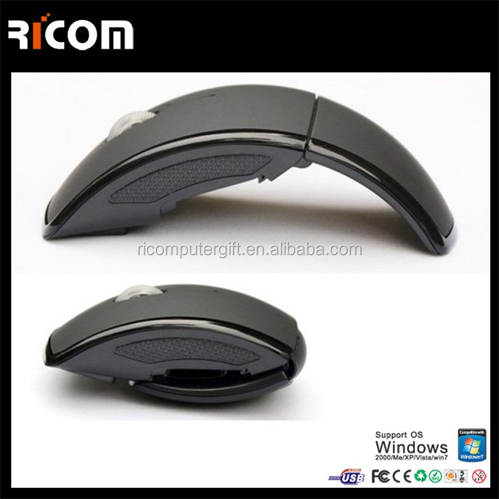 pc arc mouse,laptop arc mouse,3D arc mouse--MW8013--Shenzhen Ricom