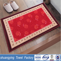 factory professionally custom soft and skidproof bath mat