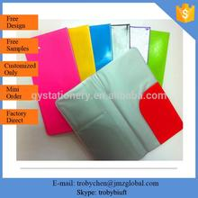 Hot Sale Plastic Pvc Travel Airline Ticket Holder,Pvc Travel Ticket Wallet Cover