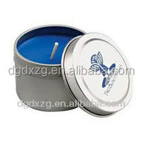 Promotional custom printed candle tin box made in China Dongguan