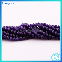 Different natural round smooth dyed jade stone beads for sale