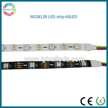 5 M white pcb 5050rgb 60leds/m ws2812b led ribbon