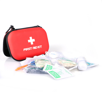 Wholesale Portable Custom Medical Waterproof Mini Travel Camping Red Plastic First Aid Box Kit