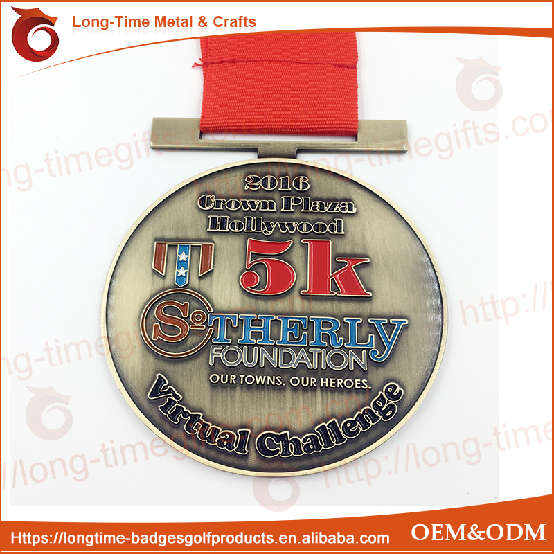 Body building fitness medal