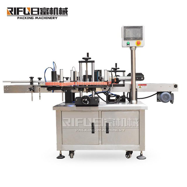 PC control inline real time printing labeling machine